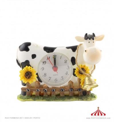 Alarm clock cow