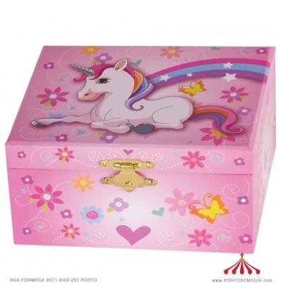 Unicorn Music Box