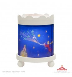Lanterna Mágica Principezinho - Branca 12V