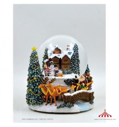 Globe Build a Snowman