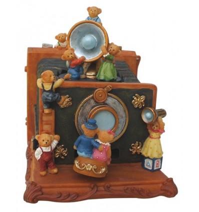 Camera com ursos em Polystone