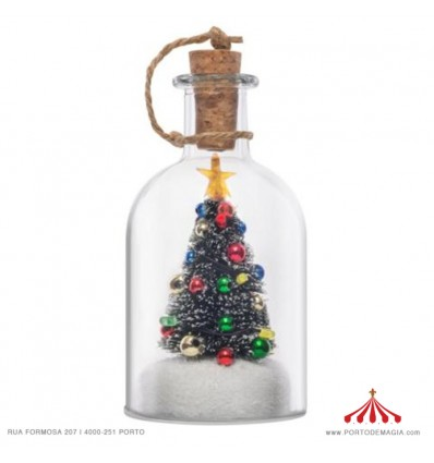 Christmas Bottle 12.5 cm