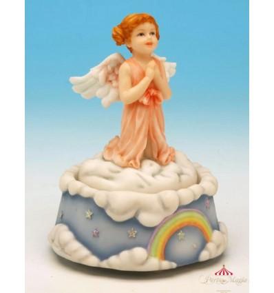 O anjo a rezar em Polystone