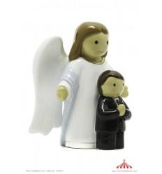 Anjo da Guarda com menino