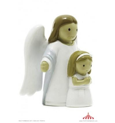 anjo da guarda com menina