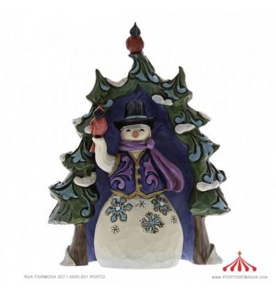 Boneco de Neve e Árvore