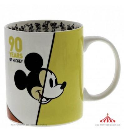 Caneca Mickey 90º aniversário Edição Limitada