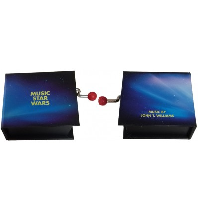 Hand Crank Music Box Star Wars