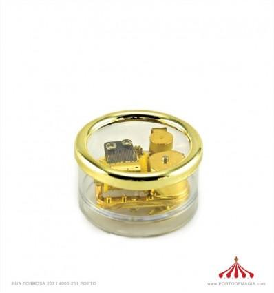 caixa redonda Ave Maria