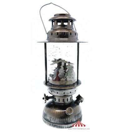 Lanterna de Natal em metal c/ luz I