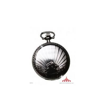 Relógio Bolso Cromado
