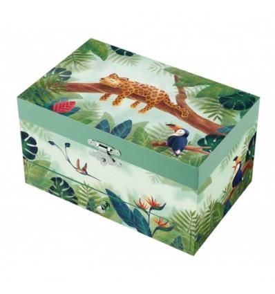 Sophie La Giraffe green - Jewelry Box Rect