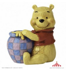 Winnie the Pooh com Flores