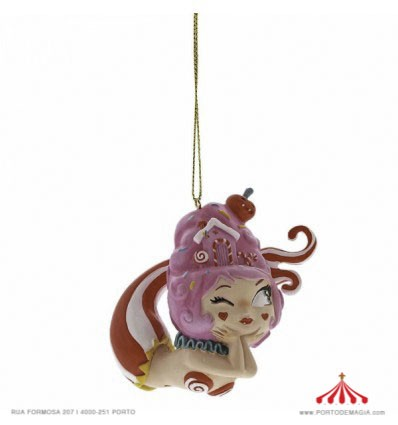 Cherry Fairy Ornament