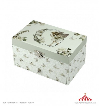 Sophie La Giraffe green - Jewelry Box Rect