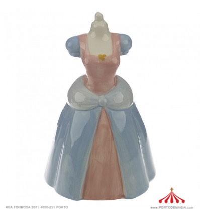 Mealheiro Vestido Princesa