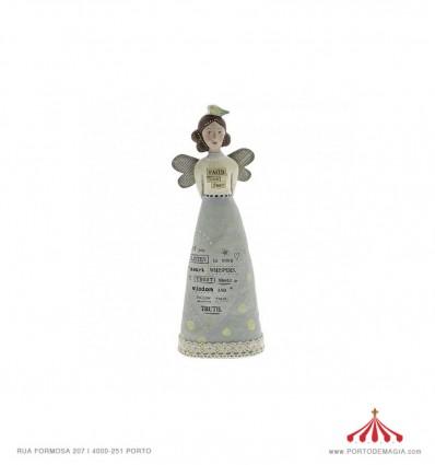 Faith Over Fear Angel Figurine