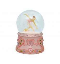 Pink Musical Ball Ballerina w / Tutu