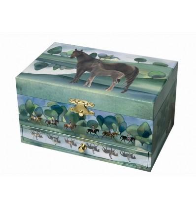 Caixa de Jóias Cavalo Normandia