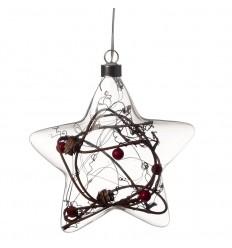 Estrela de Natal LED grande