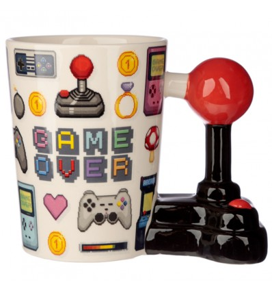 Caneca Game Over Pixel
