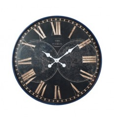 Relógio Parede Mapa