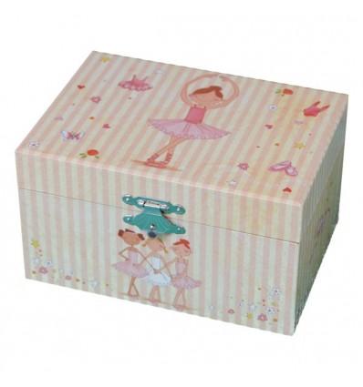Caixa de jóias Bailarina