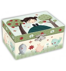 Caixa de Música - Menina Maçãs