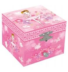 Caixa de Música - Bailarina Flores