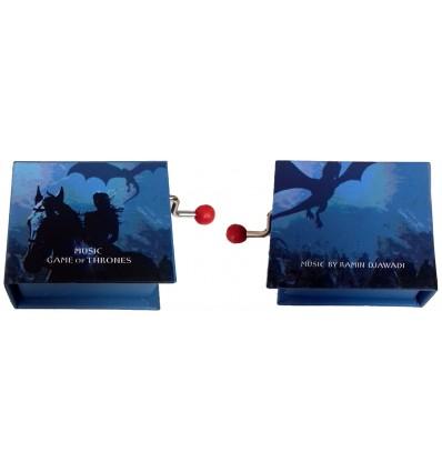 Realejo Livro Guerra dos Tronos Azul