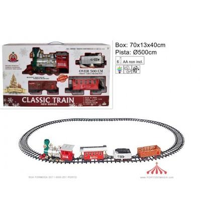 Comboio de Natal 500cm