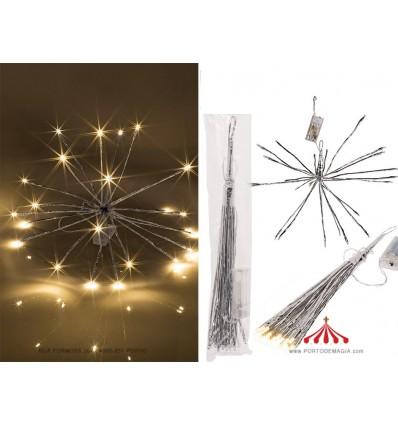 Estrela Metal com LED