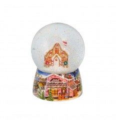Bola de Neve Gingerbread house