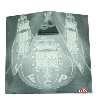 Pirâmide em cristal FCPorto
