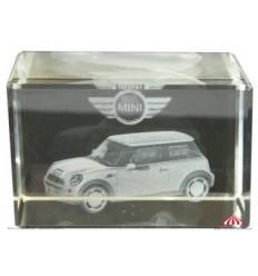 Peça em cristal Mini Cooper