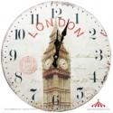 Relógio em Madeira Paris