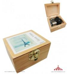 Caixa de Música em Madeira II