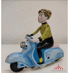Scooter Girl Azul