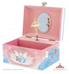 Caixa de Música Rainha e Coelho