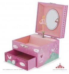 Caixa de Música Princesa e Pássaro