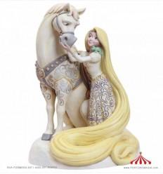 Rapunzel White Woodland Figurine - Disney