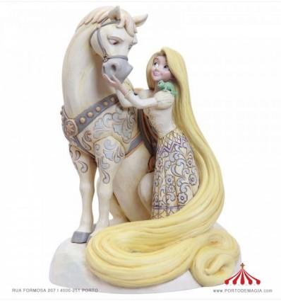 Rapunzel White Woodland Figurine