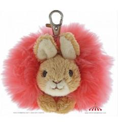 Porta Chaves Peter Rabbit Pom Pom Rosa
