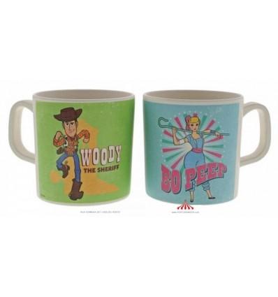 x2 Caneca Bamboo Woody e Buzz