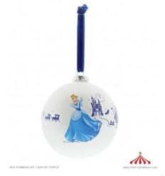 Bola de Natal Cinderela - Disney