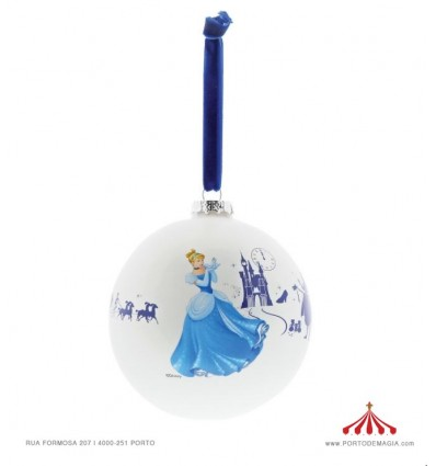 Bola de Natal Disney Cinderela