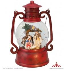 Lanterna Vermelha c/ Presepio