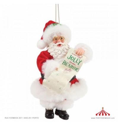 Ornamento Pai Natal Bearing Gifts