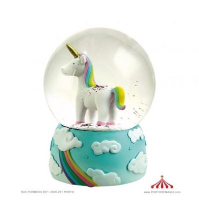 Globo de Neve Unicornio