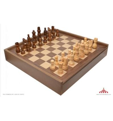 Xadrez + damas 5 em 1